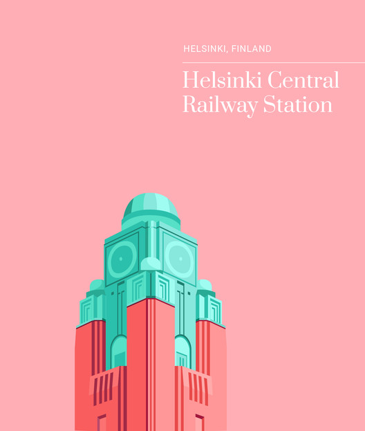 Helsinki Central Railway Station, Finland. Image Courtesy of Expedia Denmark, Sweden, Norway and Finland