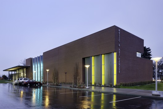 Music and Arts Center; Wenatchee, Washington / Integrus Architecture. Image © Lara Swimmer Photography