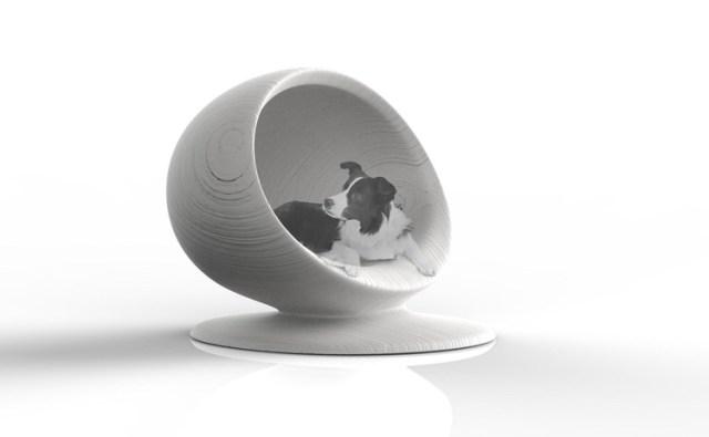 Zaha Hadid Architectes e outros 80 designers projetam casas de cachorro para instituição de caridade, 'Cloud' - Zaha Hadid Architects. Imagem Cortesia de Zaha Hadid Architects
