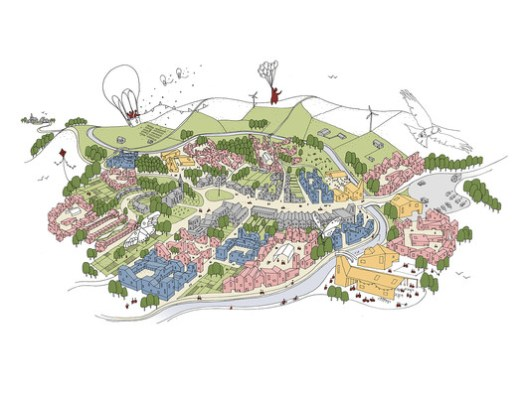 © Tibbalds Planning & Urban Design, Mikhail Riches, Featherstone Young, Marko and Placemakers, Expedition Engineering & Khaa and Malcolm Reading Consultants