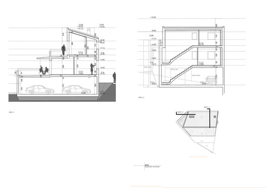 Sections - House P