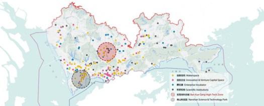 Ban Xue Gang High-Tech Zone Creative Elements Distribution Analysis Map
