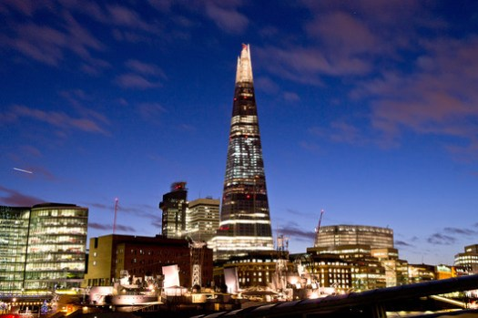 10. The Shard, London ($1.9 billion). Image © Eric Smerling