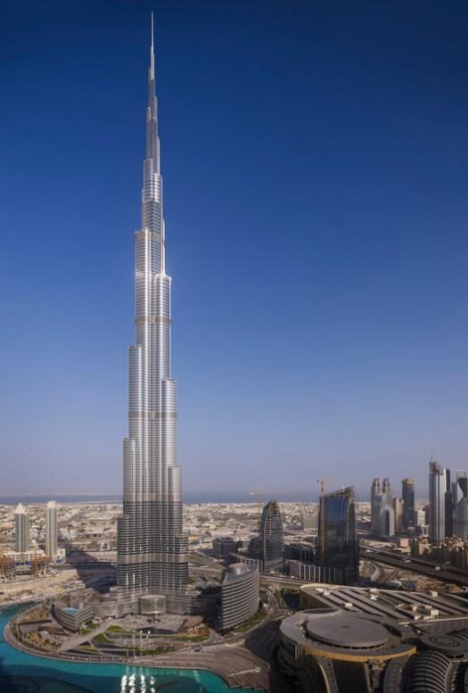 12. Burj Khalifa, Dubai ($1.5 billion). Image Courtesy of SOM
