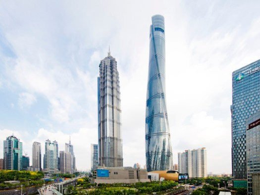5. Shanghai Tower, Shanghai ($2.4 billion). Image © Connie Zhou