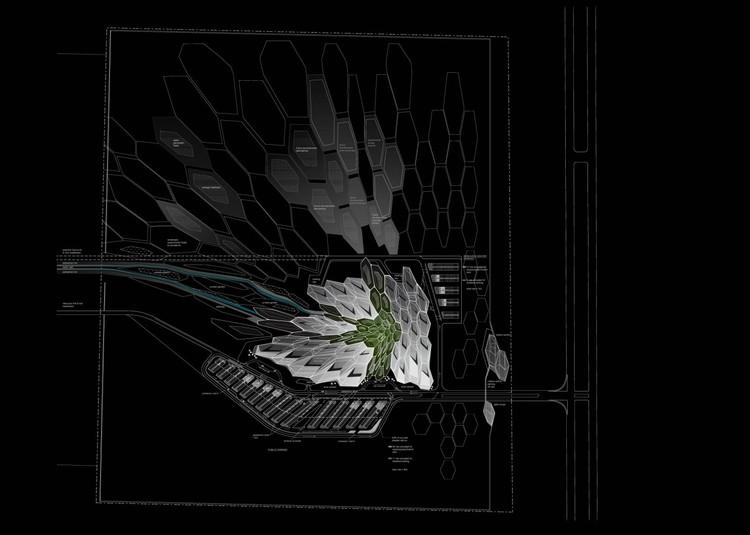 Dibujos © Zaha Hadid Architects