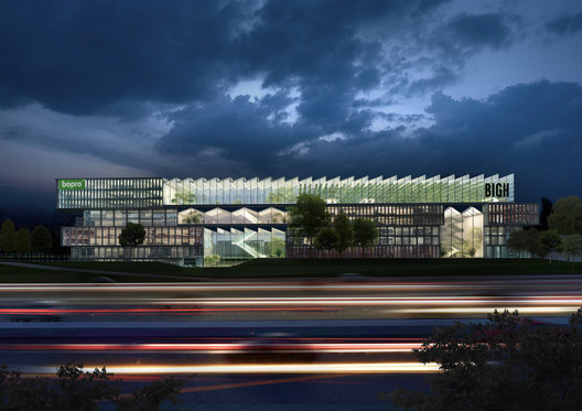 Competition Winning Paris Office Park Design To