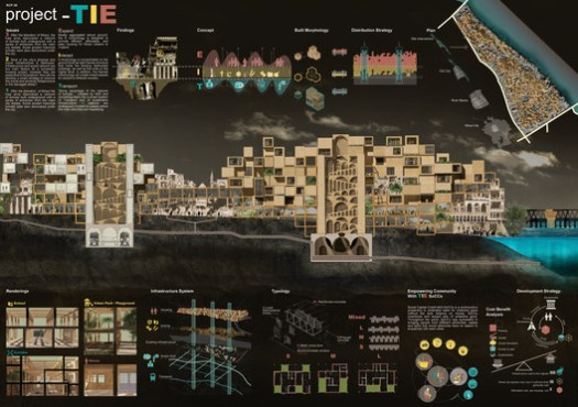 Honorable Mention: TIE by Triplicity Architects of Stuttgart, Germany