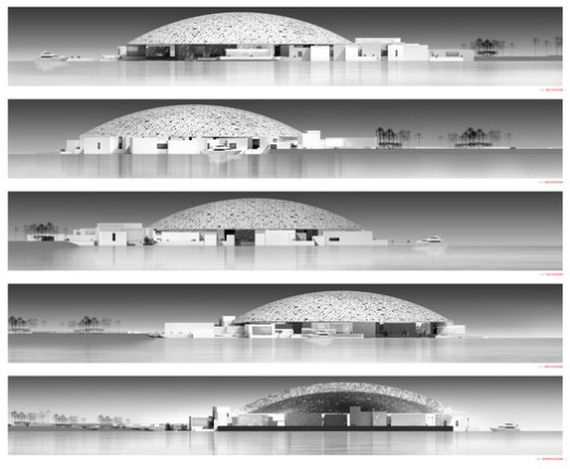 © Ateliers Jean Nouvel. Elevations