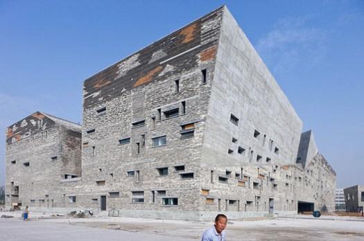 Cortesía de Wang Shu, Amateur Architecture Studio