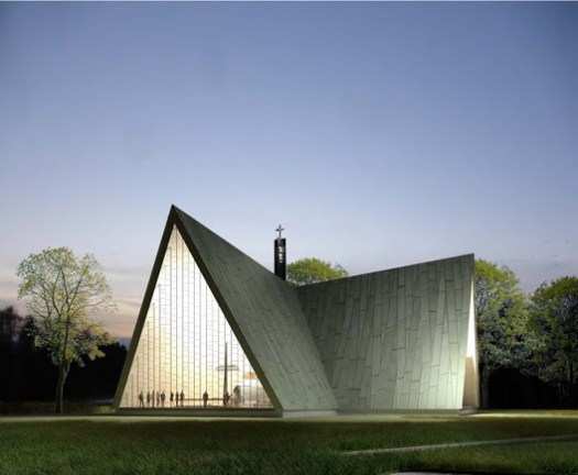 """Honorable Mention - """"Ristit (Crosses)"""" / APRT Architects. Image © APRT Architects"""