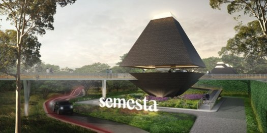 Desa Semesta by Magi Design Studio. Image Courtesy of World Architecture Festival