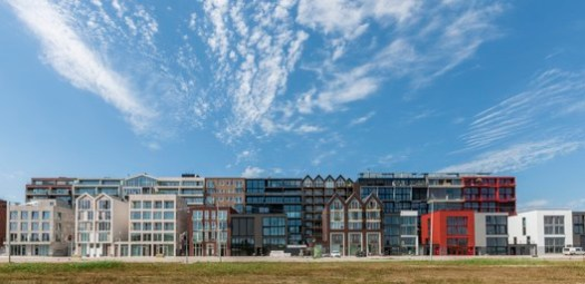Superlofts Houthaven; Amsterdam, Netherlands / Marc Koehler Architects. Image Courtesy of World Architecture Festival