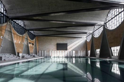 Interior Swimming Pool. Image © Haiting Sun