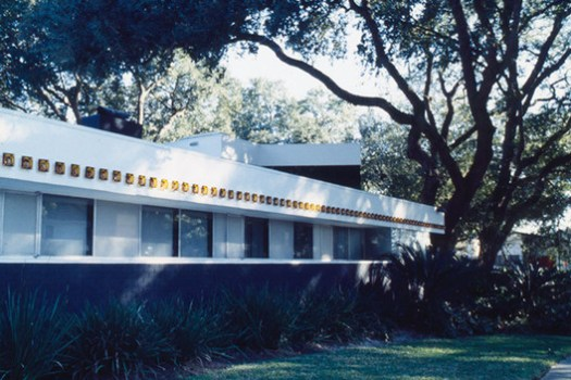 Image from the Southeastern Architectural Archive. Courtesy <a href='http://https://news.tulane.edu/news/%E2%80%98ashtray-house%E2%80%99-architect-featured-tulane-exhibit'>Tulane University</a>.. ImageSunkel House, New Orleans