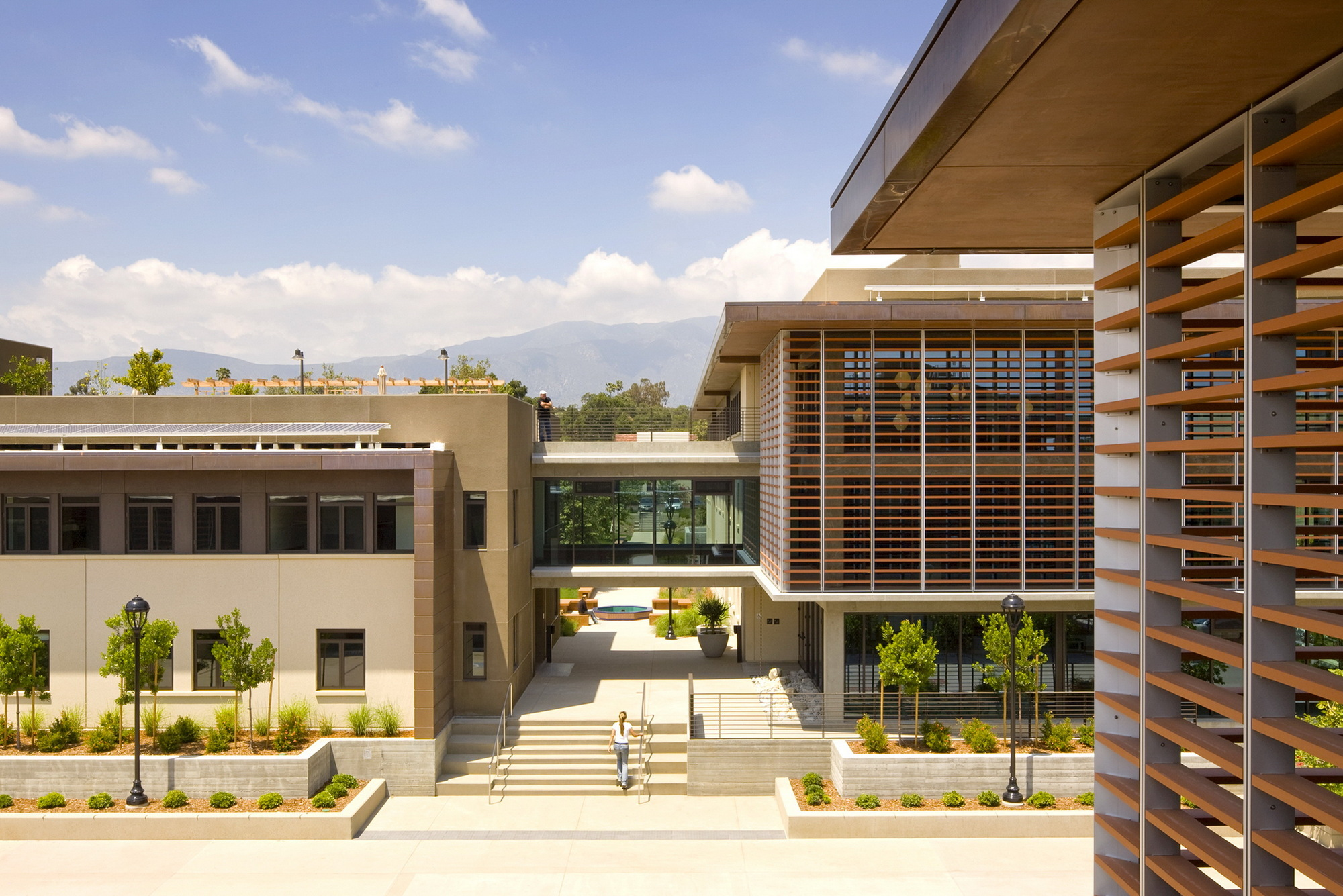 Pomona College Student Housing Ehrlich Yanai Rhee Chaney