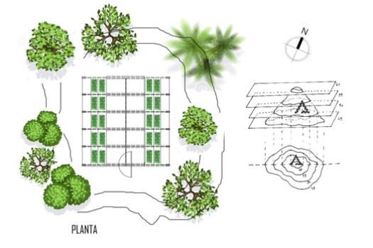 Planta / Diagrama. Image Cortesía de Natura Futura Arquitectura