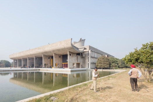 Assembly Palace of Chandigarh / Le Corbusier. Image © Laurian Ghinitoiu