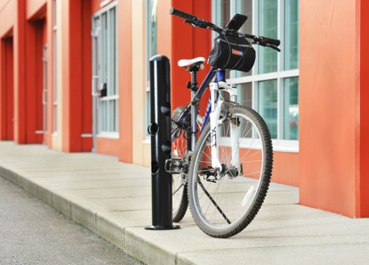 Bike Parking Bollards   Reliance Foundry. Image Courtesy of Reliance Foundry