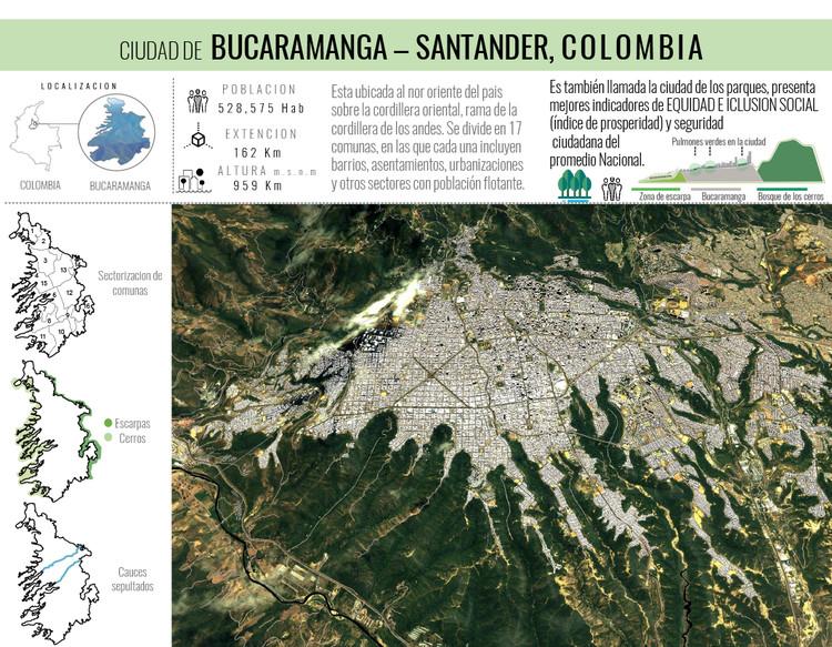 Espacio público, la piel de la democracia / Lámina 01. Image Cortesía de Taller de Arquitectura de Bucaramanga