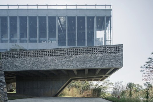 Minimised Structure to Avoid the Interuption with the Site. Image © Zhang Chao Studio
