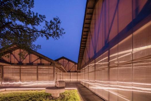 Organic Farm (Tangshan, Hebei , China) / ARCHSTUDIO. Image Courtesy of Wood Design & Building Awards