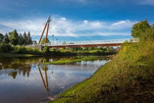 Trois-Soeurs Bridge (Québec, Quebec) / ABCP Architecture. Image Courtesy of Wood Design & Building Awards