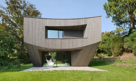 Casa Curved (Basel, Switzerland) / Daluz Gonzalez Architekten. Image Courtesy of Wood Design & Building Awards