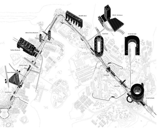 Fourth Regional Plan by Only If in collaboration with One Architecture. Credit: Only If in collaboration with One Architecture
