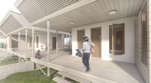11_MODULO_EXTERIOR_INCOMPLETO Architects Propose 120 Incremental Social Houses for Iquitos, Peru Architecture