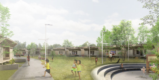 3_URBANO_PLAZA_REDONDA Architects Propose 120 Incremental Social Houses for Iquitos, Peru Architecture