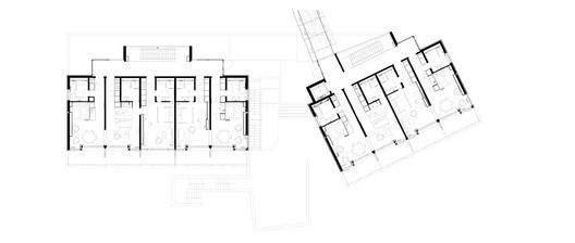 Obergeschoss Alpine Chalets / landau+kindelbacher Architekten Innenarchitekten Architecture