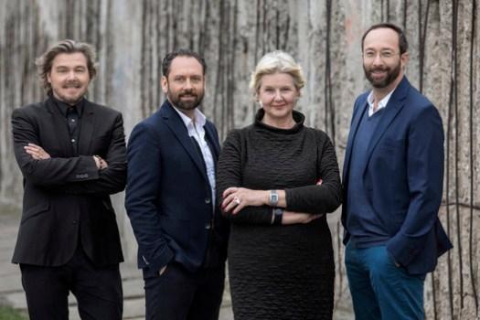Lars Krückeberg, Thomas Willemeit, Marianne Birthler and Wolfram Putz, photo: Pablo Castagnola