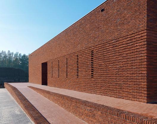 01_2373_BedauxdeBrouwer_Vogelensangh Pavilion Brick Factory Vogelensangh / Bedaux de Brouwer Architects Architecture