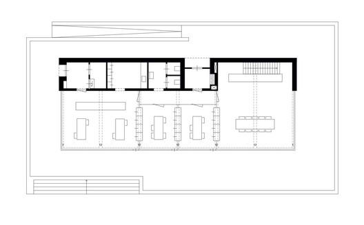 2373_BedauxdeBrouwer_PLG_1a200_ground_floor Pavilion Brick Factory Vogelensangh / Bedaux de Brouwer Architects Architecture