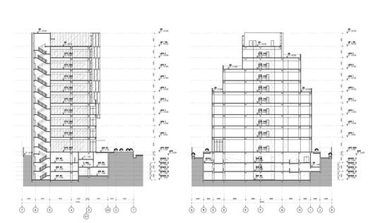 Section Jagat Tower / Sindhu Hadiprana Design Consultant & Studio Sa_e Architecture