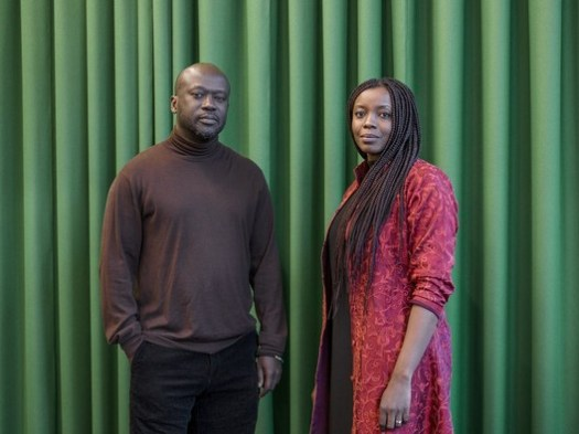 Sir David Adjaye with his protégée Mariam Kamara. Image Courtesy of Rolex Arts Initiative