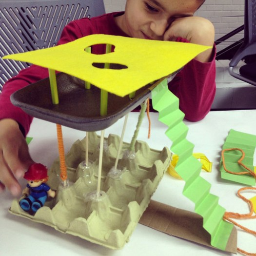 """6-year-old Samuel proposes architecture as a refuge in this Spanish project called """"Chiquitectos"""". The project hopes to bring architecture to non-architects, and to increase children's and young people's interest in architecture. This is an example of what we need to do, as a whole, within our discipline. Image Courtesy of Chiquitectos"""