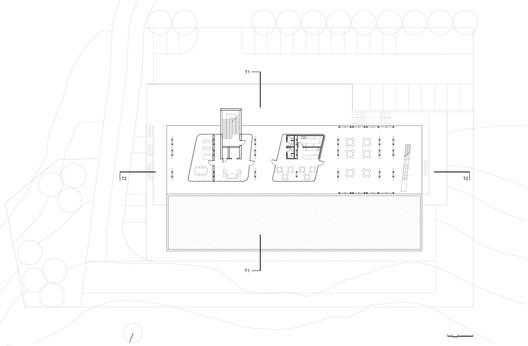 Framing_the_Horizon_-_11_-_Ground_Floor_Plan_0 Centre for Plasma Physics and Lasers / Sparch Sakellaridou - Papanikolaou Architects Architecture
