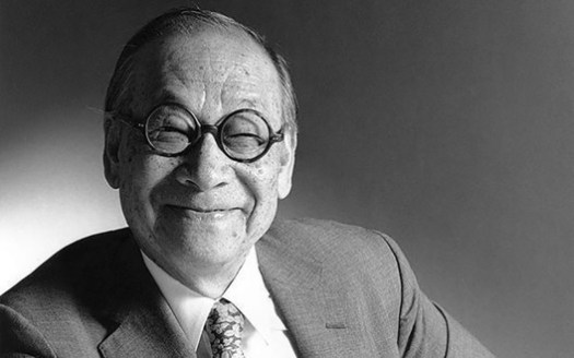 © RIBA <a href='http://www.telegraph.co.uk/culture/art/architecture/7206598/Lifetime-achievement-award-for-architect-I.-M.-Pei.html?image=9'>via The Telegraph</a>. ImageI. M. Pei, Pritzker 1983