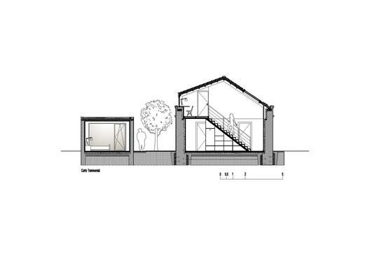 section Fisherman's House / Ines Brandão Arquitectura Architecture