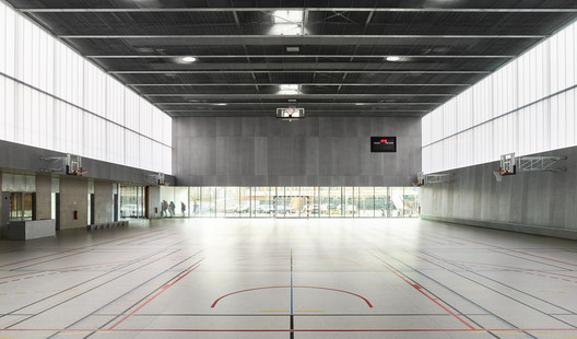 17_ROBERTSAU_%C2%A9Eugeni_Pons 'Human Rights' Sports Center in Strasbourg / Dominique Coulon & associés Architecture