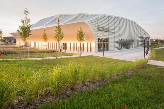 """_M4A0704 """"Les Fuseaux"""" Cultural Center / ANMA Architecture"""