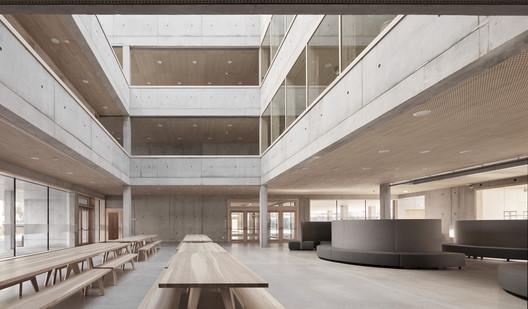 Schule_Schendlingen_Bregenz_12_%C2%A9_Foto_Adolf_Bereuter Schendlingen School / studio bär + Bernd Riegger + Querformat Architecture