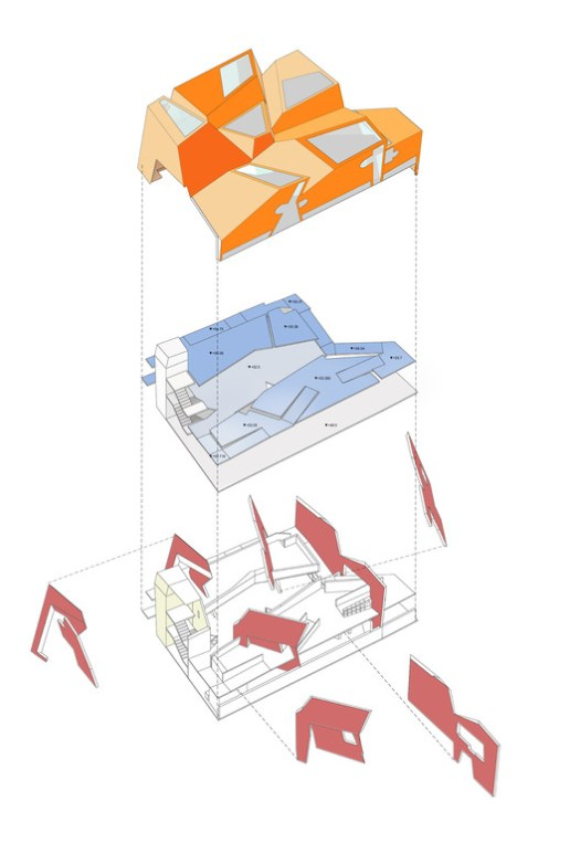 Concept Diagram. Image Courtesy of CRAB Studio