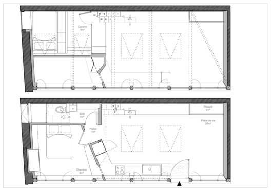 Plans Atelier_142 / Atelier Wilda Architecture