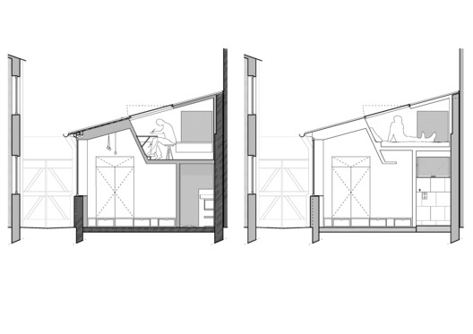 Sections_T Atelier_142 / Atelier Wilda Architecture