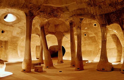 Amdavad Ni Gufa. Image © VSF. Courtesy of the Pritzker Architecture Prize