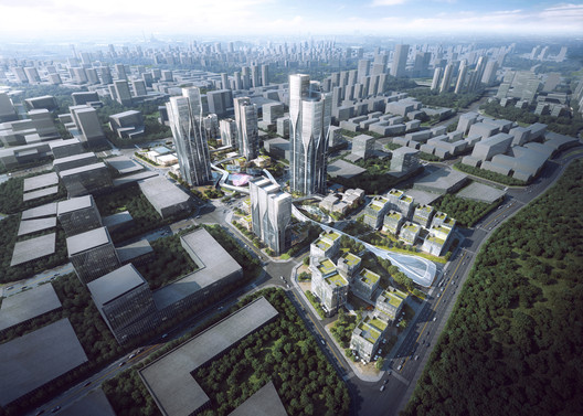 Vanke_Tianfu_Cloud_City__by_Aedas_1 Aedas' Latest Mixed-Use Development Creates a City Inspired by 'The Cloud' Architecture