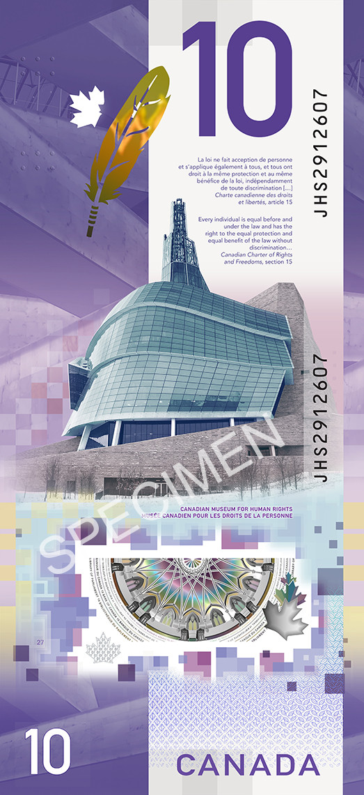 39983096014_c379f06d14_o New Canadian $10 Bill to Feature Antoine Predock's Canadian Museum for Human Rights Architecture